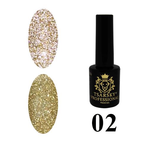 Гель-лак Tsarsky Crystals №02