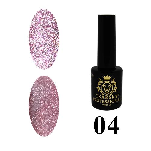 Гель-лак Tsarsky Crystals №04